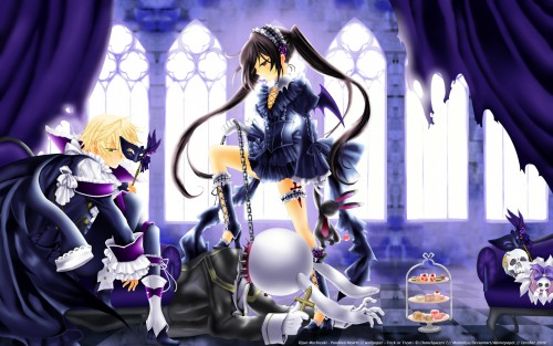 Jun Mochizuki, Xebec, Pandora Hearts, Oz Vessalius, Alice (Pandora Hearts) Wallpaper