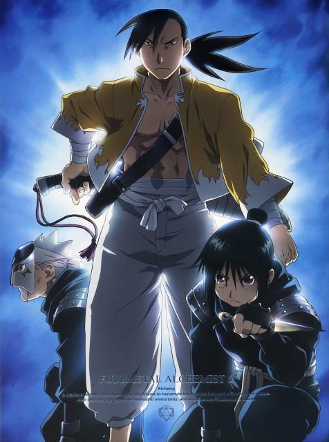 Hiromu Arakawa, BONES, Fullmetal Alchemist, Lan Fan, Ling Yao