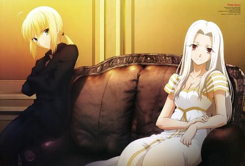 TYPE-MOON, Ufotable, Fate/Zero, Irisviel von Einzbern, Saber