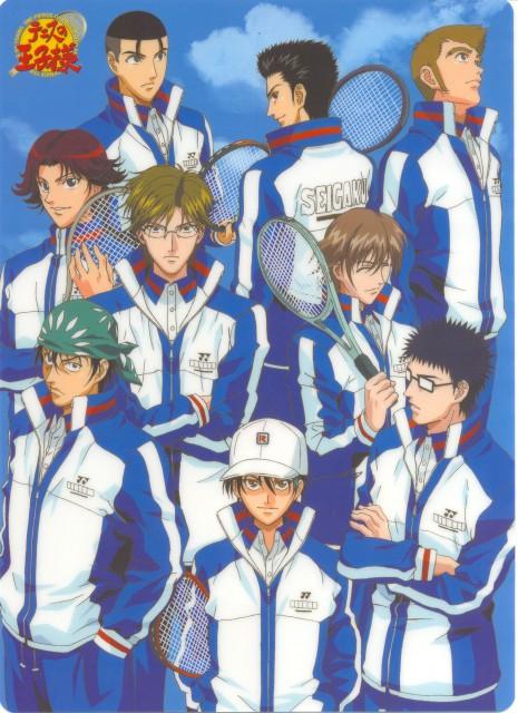 Takeshi Konomi, J.C. Staff, Prince of Tennis, Shuichiro Oishi, Takashi Kawamura