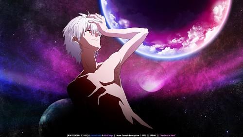 Yoshiyuki Sadamoto, Atsushi Okuda, Gainax, Neon Genesis Evangelion, Kaworu Nagisa Wallpaper