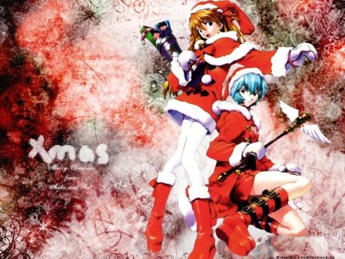 Yoshiyuki Sadamoto, Neon Genesis Evangelion, Rei Ayanami, Asuka Langley Soryu Wallpaper