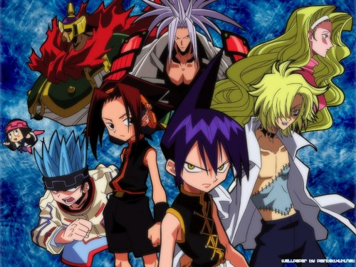 Hiroyuki Takei, Xebec, Shaman King, Yoh Asakura, Eliza (Shaman King) Wallpaper