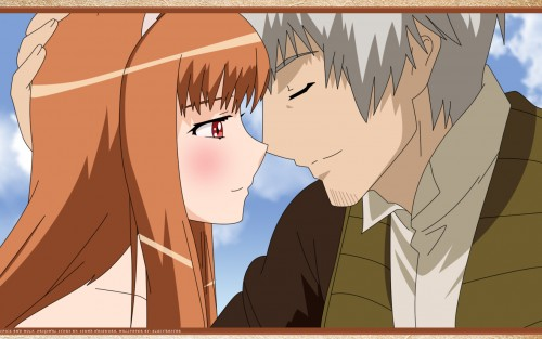 Spice and Wolf, Horo, Kraft Lawrence Wallpaper