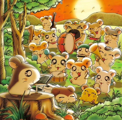 Ritsuko Kawai, TMS Entertainment, Hamtaro, Stan (Hamtaro), Snoozer