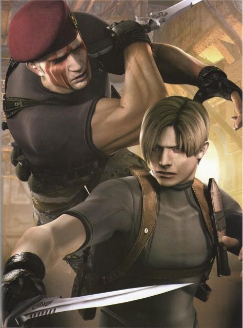 Capcom, Resident Evil 4, Leon S. Kennedy, Jack Krauser