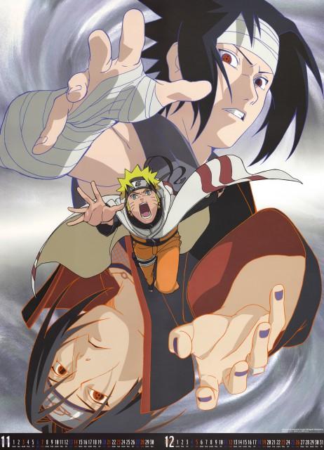 Studio Pierrot, Naruto, Itachi Uchiha, Naruto Uzumaki, Sasuke Uchiha
