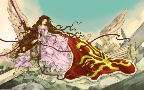 CLAMP, Lelouch of the Rebellion, Nunnally Lamperouge Wallpaper