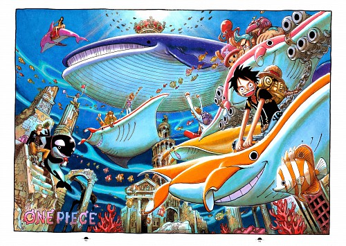 Eiichiro Oda, Toei Animation, One Piece, Color Walk 5 - Shark, Nami