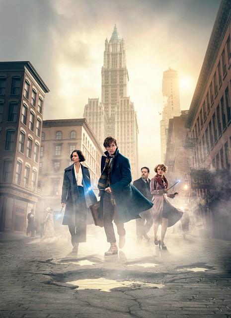 Warner Bros., Fantastic Beasts, Jacob Kowalski, Queenie Goldstein, Porpentina Goldstein