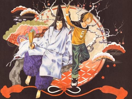 Takeshi Obata, Hikaru no Go, Blanc et Noir, Hikaru Shindo, Fujiwara no Sai