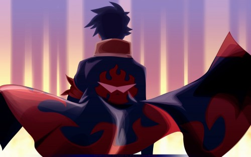 Tengen Toppa Gurren-Lagann, Simon, Vector Art Wallpaper