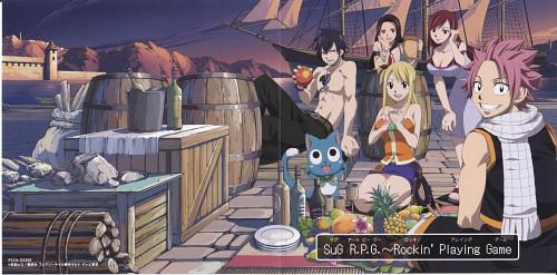 Hiro Mashima, Satelight, Fairy Tail, Erza Scarlet, Happy (Fairy Tail)