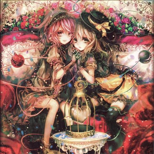 navio*, Touhou, Satori Komeiji, Koishi Komeiji, Album Cover
