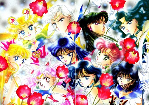 Naoko Takeuchi, Bishoujo Senshi Sailor Moon, BSSM Original Picture Collection Vol. III, Sailor Chibi Moon, Sailor Saturn