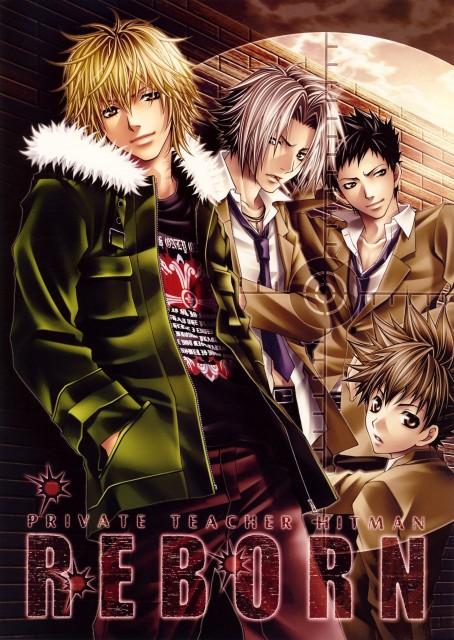 Aiki Ren, Katekyo Hitman Reborn!, Dino Cavallone, Tsunayoshi Sawada, Hayato Gokudera