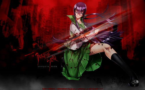 Shouji Sato, Madhouse, High School of the Dead, Saeko Busujima Wallpaper