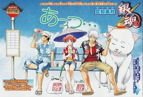 Hideaki Sorachi, Gintama, Kagura, Gintoki Sakata, Sadaharu