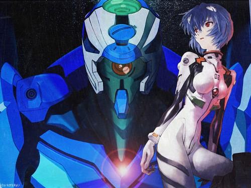 Yoshiyuki Sadamoto, Gainax, Neon Genesis Evangelion, Rei Ayanami, Unit-00 Wallpaper