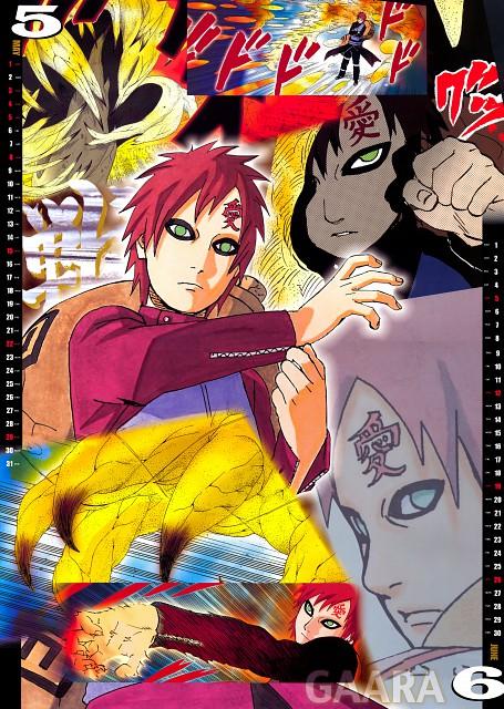 Masashi Kishimoto, Naruto, Gaara