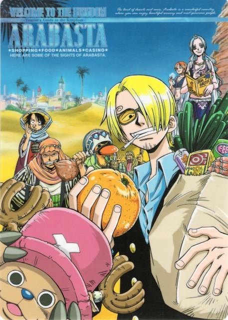 Eiichiro Oda, One Piece, Tony Tony Chopper, Nefeltari Vivi, Carue