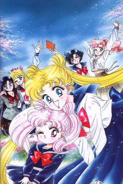 Naoko Takeuchi, Bishoujo Senshi Sailor Moon, BSSM Original Picture Collection Vol. II, Chibi Usa, Rei Hino