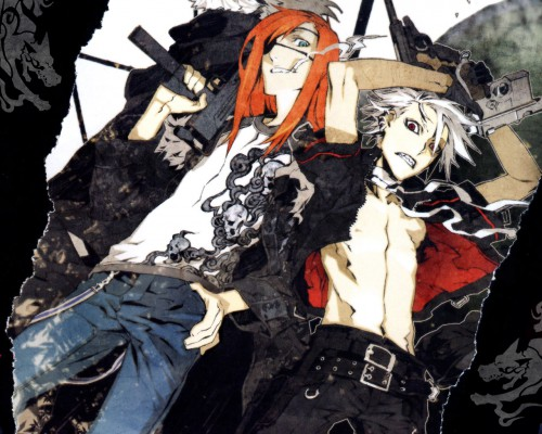 Miwa Shirow, Dogs: Bullets and Carnage, Badou Nails, Haine Rammsteiner Wallpaper