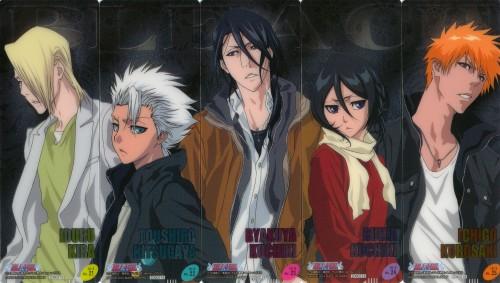 Studio Pierrot, Bleach, Toshiro Hitsugaya, Rukia Kuchiki, Byakuya Kuchiki