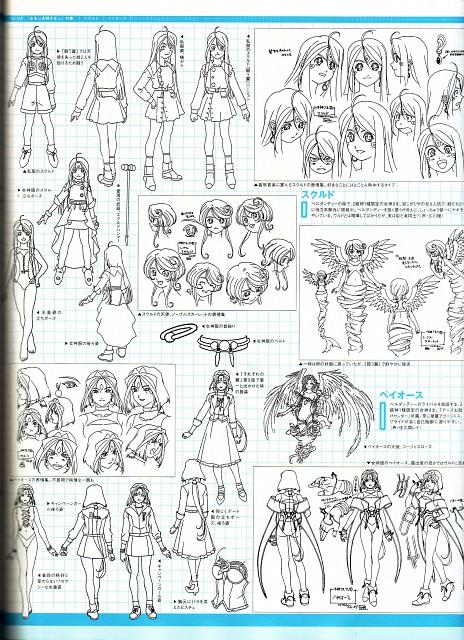 Kousuke Fujishima, Anime International Company, Ah! Megami-sama, Noble Scarlet, Peorth