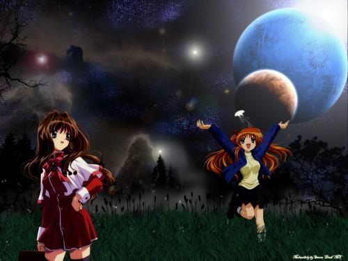 Kyoto Animation, Kanon, Makoto Sawatari, Kaori Misaka Wallpaper