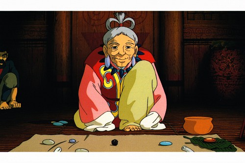 Studio Ghibli, Princess Mononoke, Princess Mononoke Postcard Collection, Hii-sama, Postcard