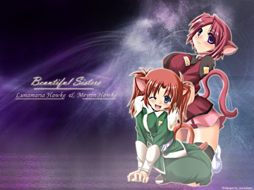 Sunrise (Studio), Mobile Suit Gundam SEED Destiny, Meyrin Hawke, Lunamaria Hawke Wallpaper
