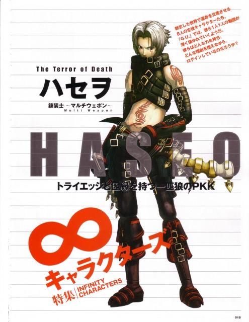 .hack//G.U., Haseo