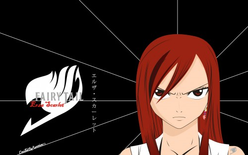 Hiro Mashima, Satelight, Fairy Tail, Erza Scarlet Wallpaper