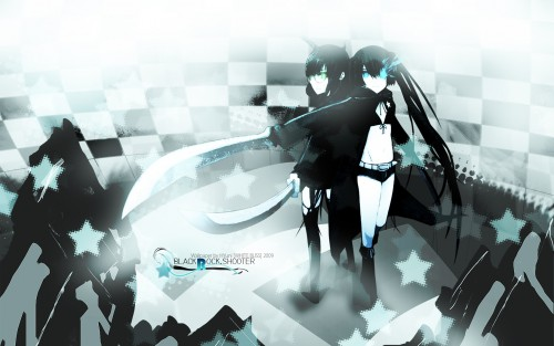 huke, Black Rock Shooter, Black Devil Girl, Black Rock Shooter (Character) Wallpaper