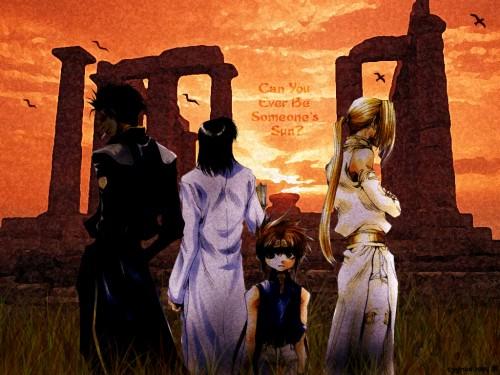Kazuya Minekura, Saiyuki Gaiden, Son Goku (Saiyuki), Tenpou Gensui, Kenren Taishou Wallpaper