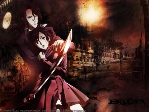 Production I.G, Blood+, Hagi, Saya Otonashi Wallpaper