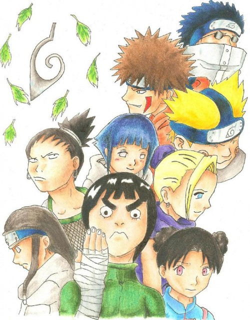 Studio Pierrot, Naruto, Tsunade, Rock Lee, Haku