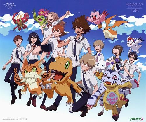 Toei Animation, Digimon Adventure, Taichi Yagami, Takeru Takaishi, Jou Kido