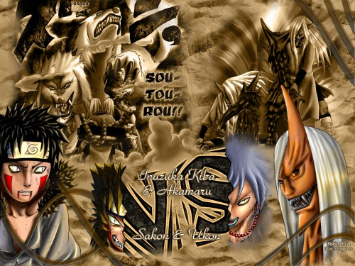 Masashi Kishimoto, Studio Pierrot, Naruto, Akamaru (Naruto), Kiba Inuzuka Wallpaper
