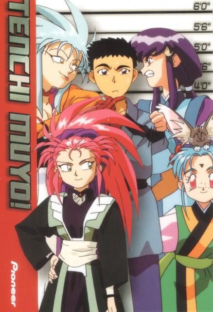 Tenchi Muyo, Washu Hakubi, Ayeka Masaki Jurai, Tenchi Masaki, Ryoko Hakubi