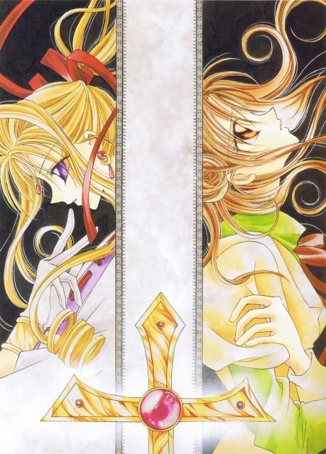 Arina Tanemura, Kamikaze Kaitou Jeanne, Kamikaze Kaitou Jeanne Artbook, Maron Kusakabe, Kaitou Jeanne