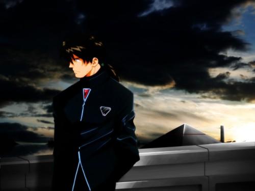 Neon Genesis Evangelion, Kaji Ryoji Wallpaper