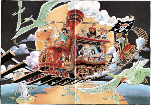 Eiichiro Oda, Toei Animation, One Piece, Color Walk 4 - Eagle, Nami