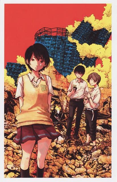 Inio Asano, Zankyou no Terror, Lisa Mishima, Twelve (Zankyou no Terror), Nine (Zankyou no Terror)