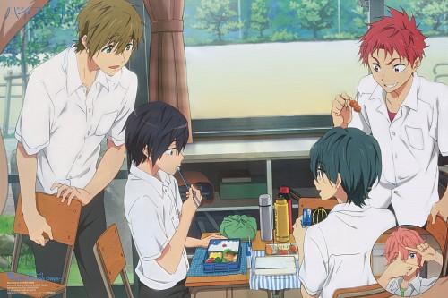 Kyouhei Andou, Kyoto Animation, Free!, Makoto Tachibana, Kisumi Shigino