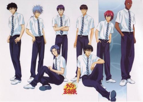 Takeshi Konomi, J.C. Staff, Prince of Tennis, Renji Yanagi, Genichiro Sanada
