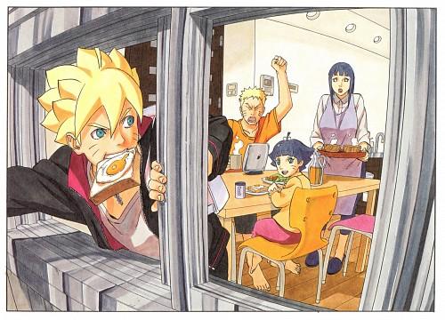 Masashi Kishimoto, Naruto, Himawari Uzumaki, Naruto Uzumaki, Hinata Hyuuga