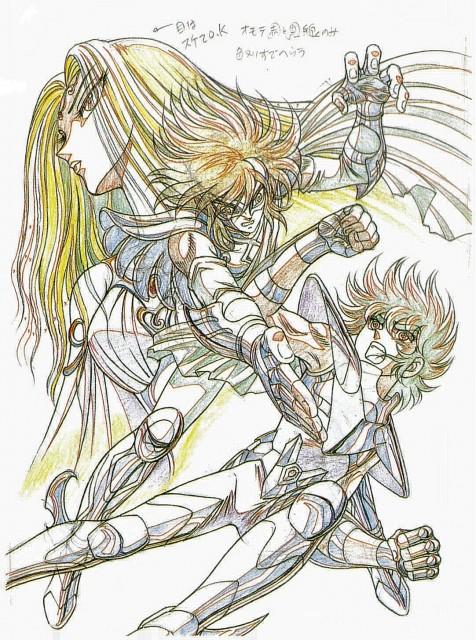 Masami Kurumada, Toei Animation, Saint Seiya, Icarus Toma, Artemis (Saint Seiya)