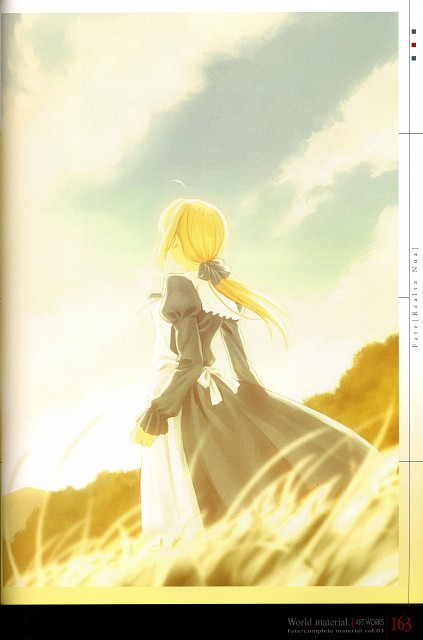 TYPE-MOON, Fate/complete material III World material., Fate/stay night, Saber